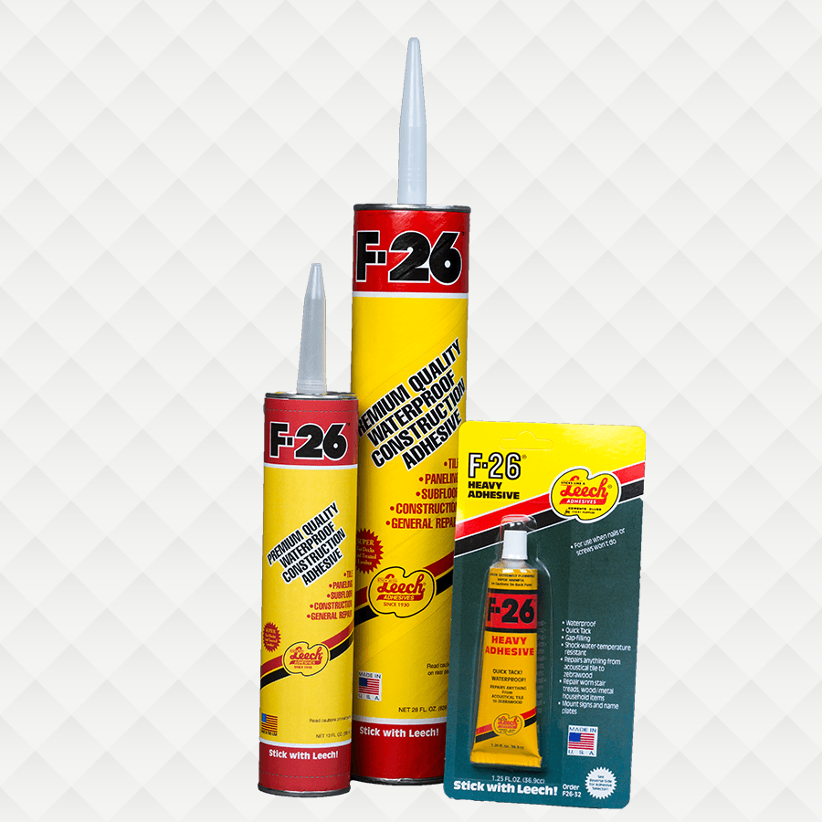 The Amazing F-26® Premium Quality Waterproof Construction Adhesive
