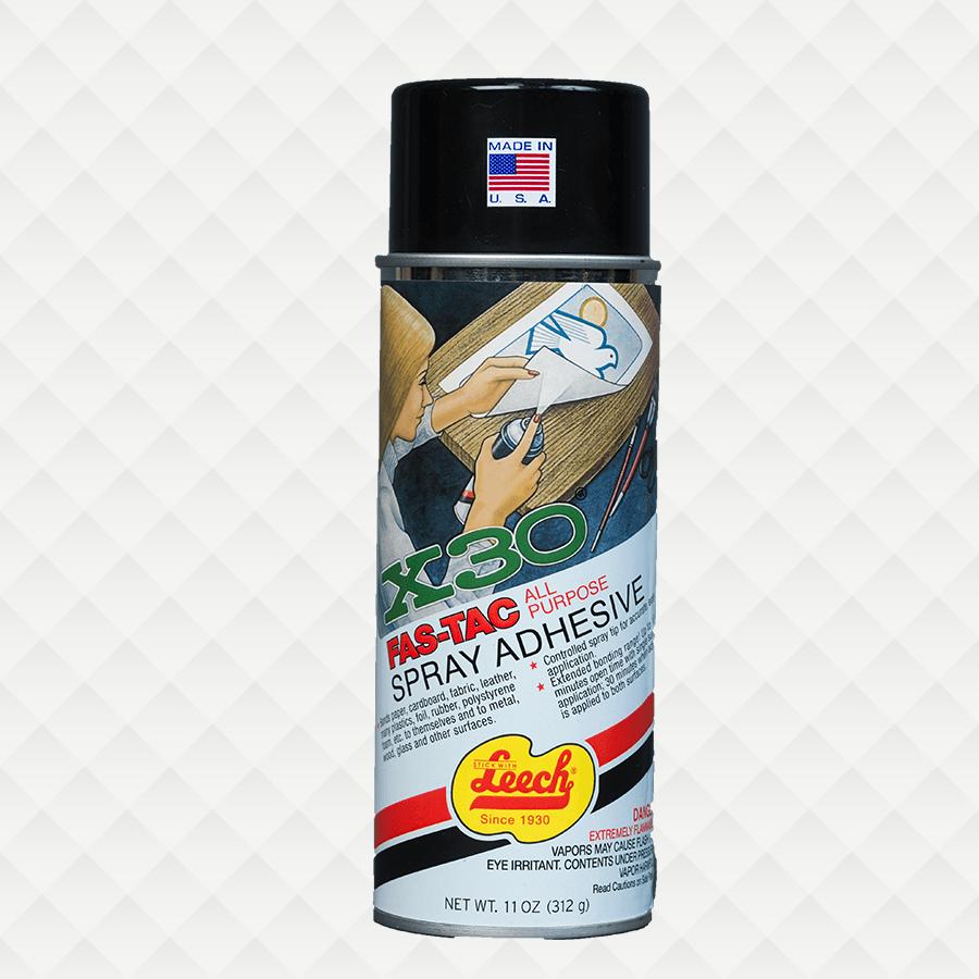 X 30® FAS-TAC Spray Adhesive