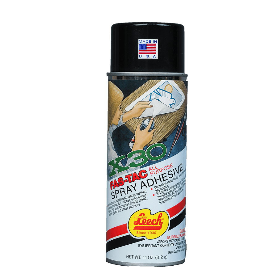 X 30® FAS-TAC Spray Adhesive